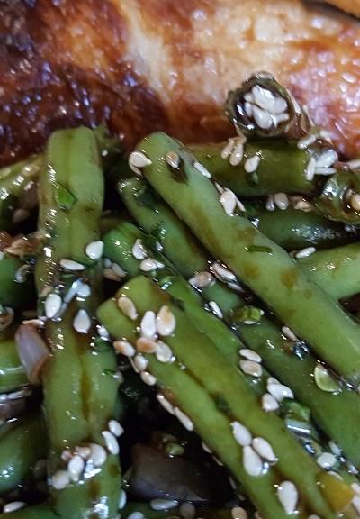 Sesame Green Bean Salad