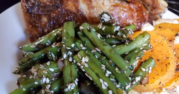 Sesame Green Bean Salad