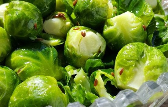 Mom's Caraway Brussels Sprouts