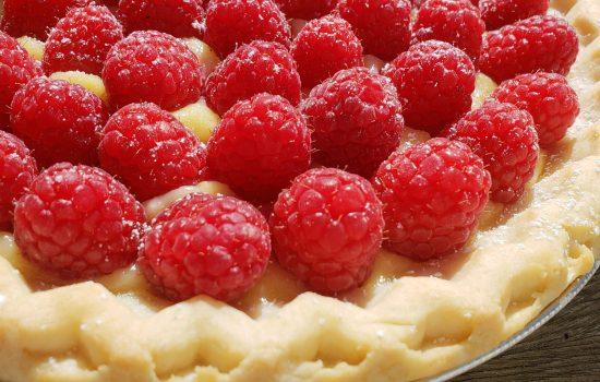 Maureen O'Sullivan's Lemon Curd and Berry Pie