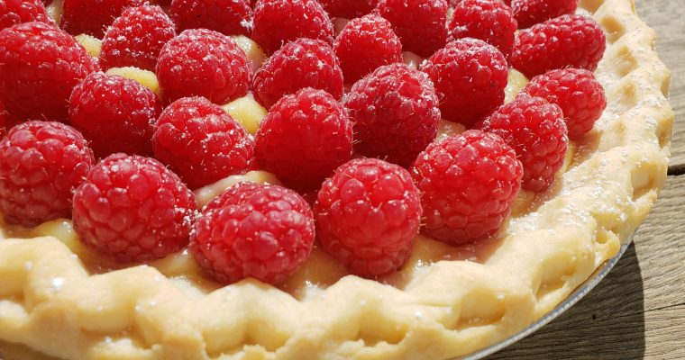 Maureen O'Sullivan's Lemon Curd and Berry Pie