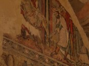 Medieval painting in Winchester Cathedral