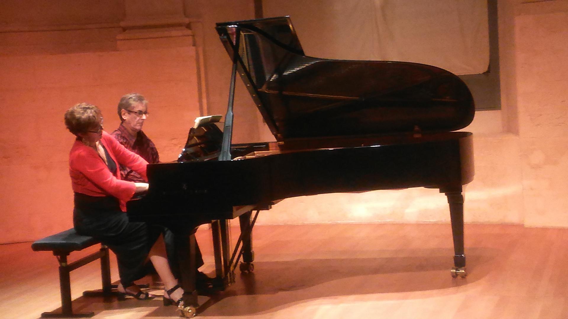 Veronique Muzy et Roland Conil
