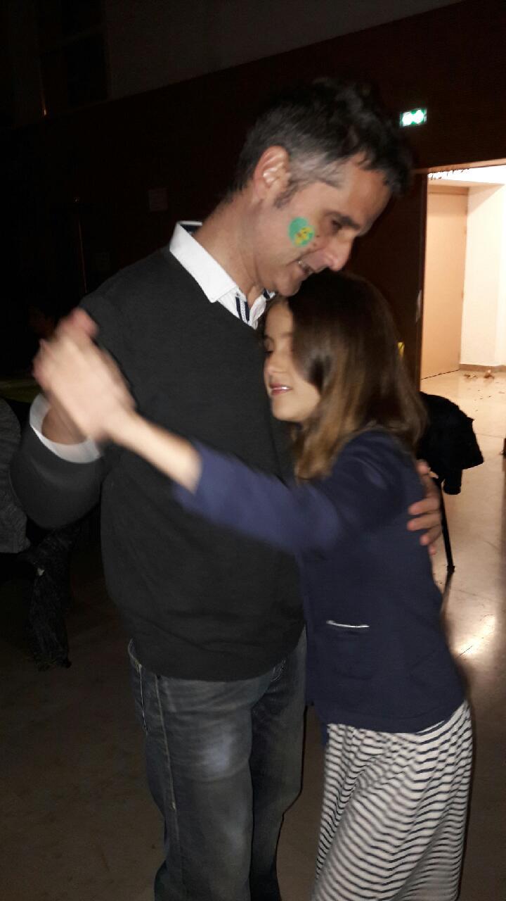 Léonie et son papa