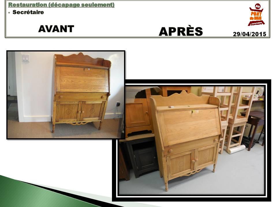 Restauration Meuble En Bois - Restauration de meubles Au PONT de BOISÉbénisterie
