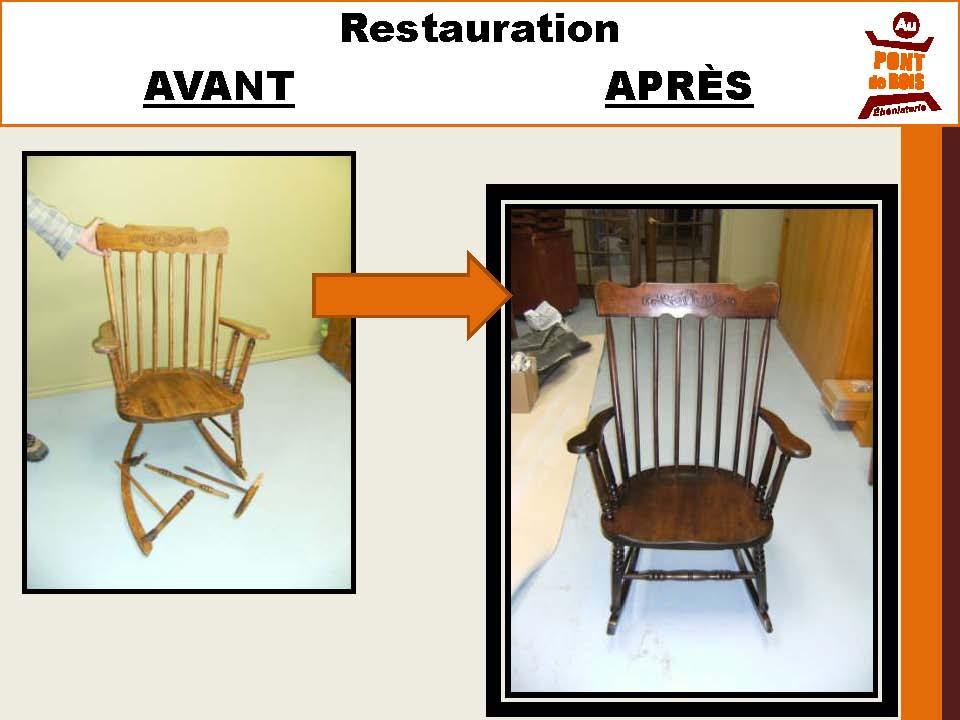 Restauration de meubles au pont de bois b nisterie - Formation restauration de meubles ...