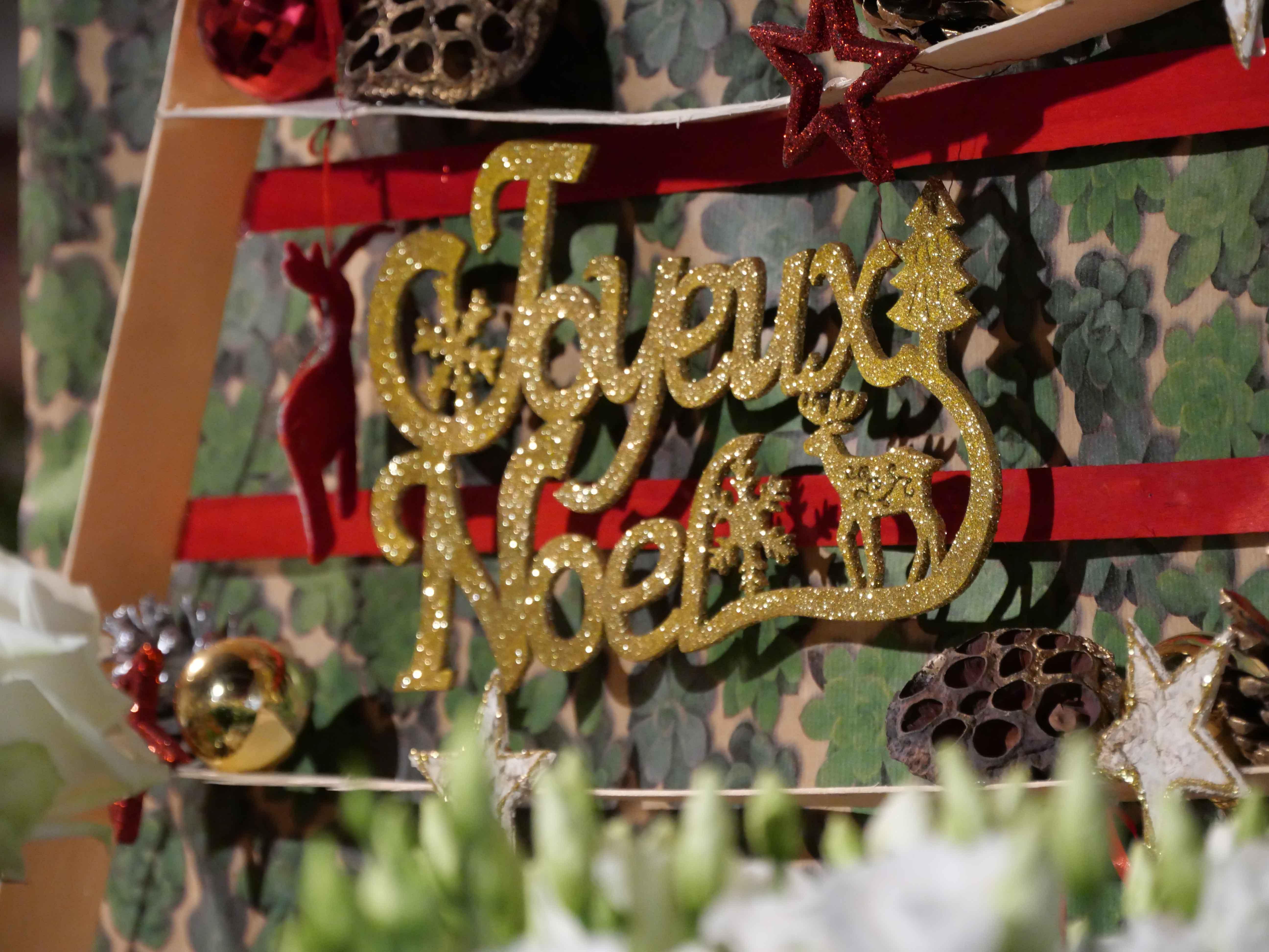 Joyeux Noël doré
