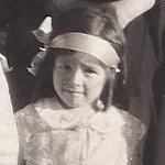 4歳の時のバーバラ・Y・マーティン