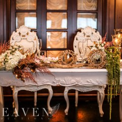 Wedding Chair Covers Montreal Dining Room Grey Aura Design  Fleuriste Florist Just