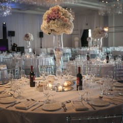 Wedding Chair Covers Montreal Low Lawn Chairs Aura Design  Fleuriste Florist Just