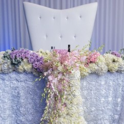 Wedding Chair Covers Montreal Faux Leather Paint Aura Design  Fleuriste Florist Just