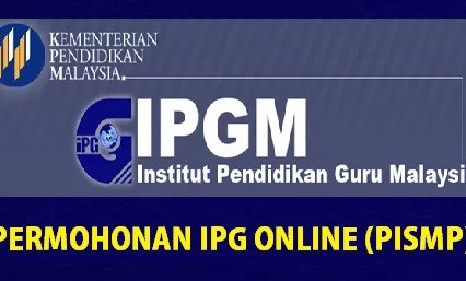 Permohonan IPG PISMP 2020 Secara Online