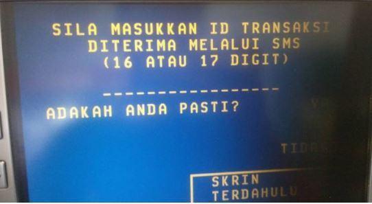 keluar duit tanpa kad ATM