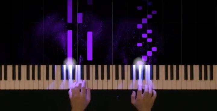 The visual execution of Hans Zimmer's Interstellar