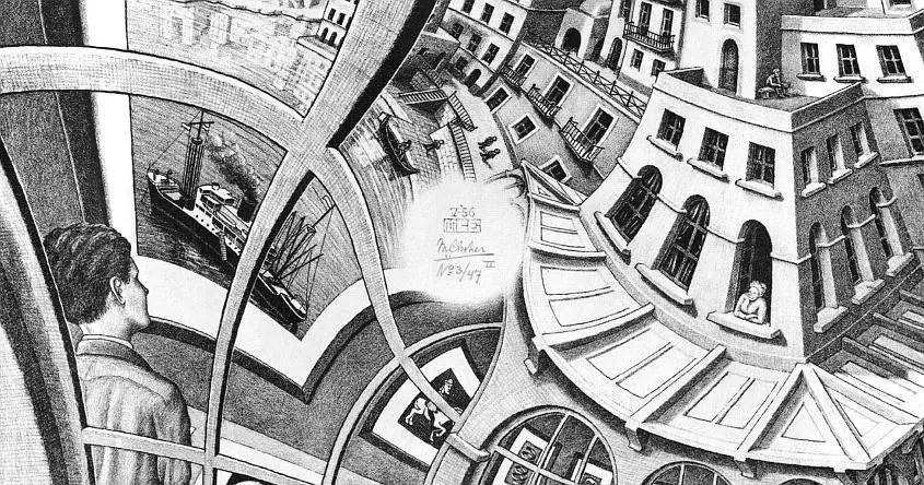 La Galleria di Stampe di Escher, il dipinto che solo un computer riuscì a terminare