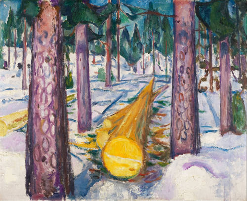 Edvard_Munch_The_Yellow_Log