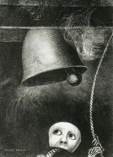 A_Edgar_Poe_(Un_masque_sonne_le_glas_funebre)_(To_Edgar_Poe_(A_Mask_Sounds_the_Death_Knell))_LACMA_AC1997.14.1.3
