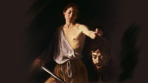 Caravaggio's death and request for mercy: David with the Head of Goliath