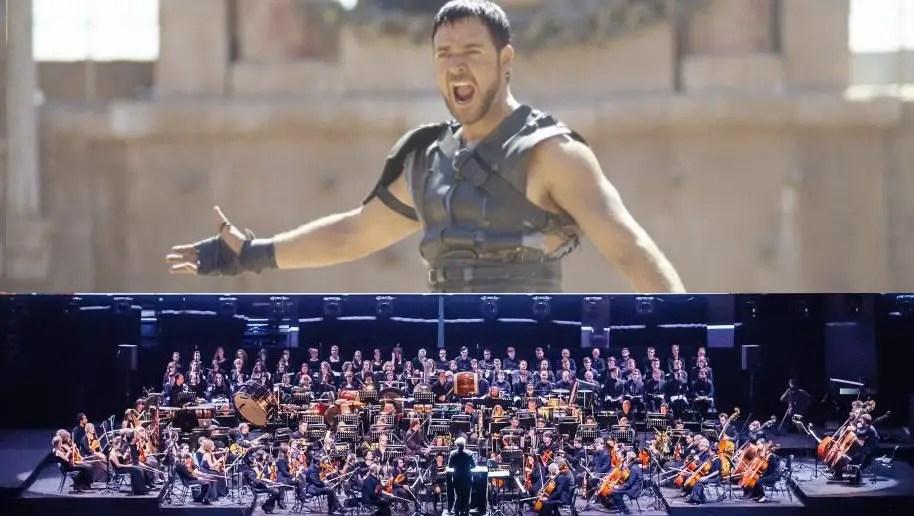 Il Gladiatore al Circo Massimo con le musiche di Hans Zimmer dal vivo