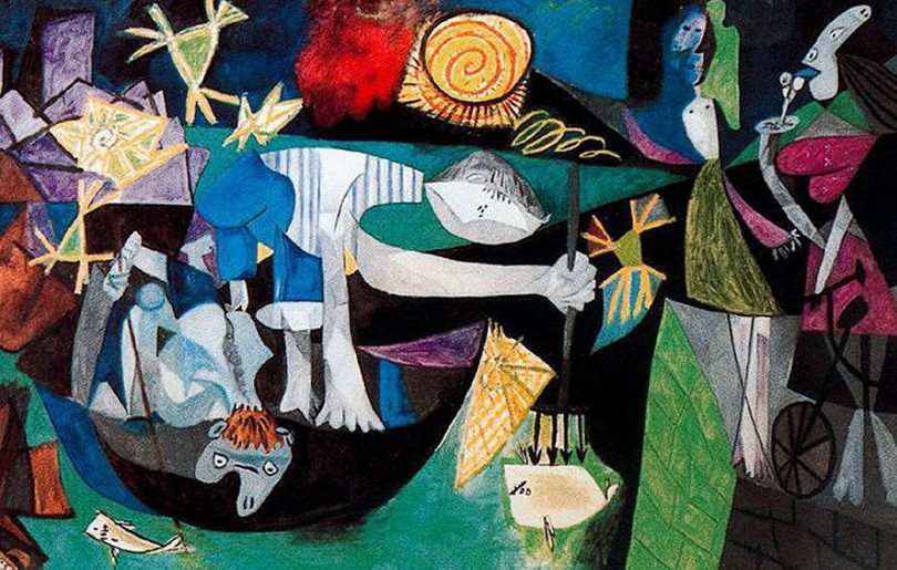 Night Fishing at Antibes: the analysis & meaning of Picasso's anti