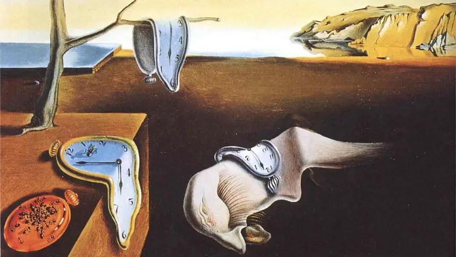 Dalí, La Persistenza della Memoria e la relatività della condizione umana
