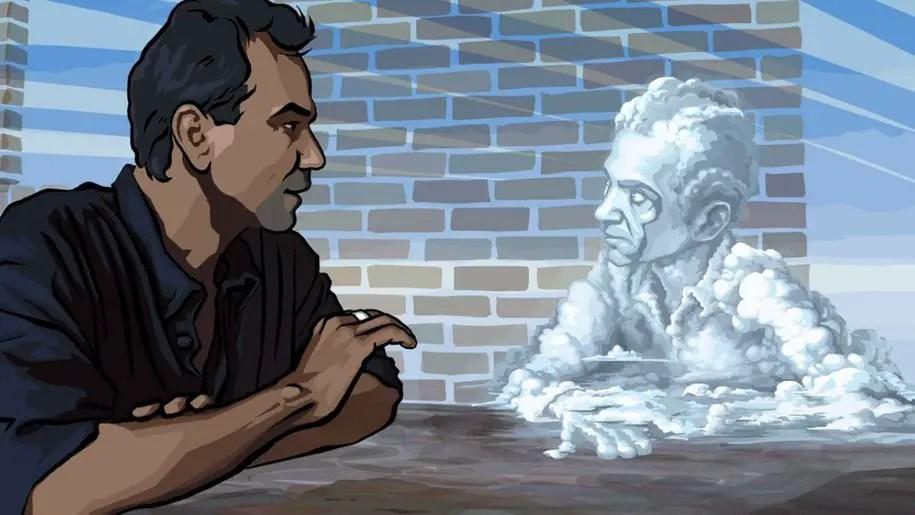 Waking Life: un viaggio filosofico animato tra sogno e realtà