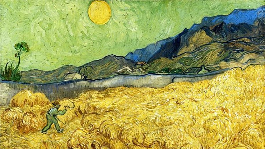 Vincent Van Gogh: a symphony in yellow –