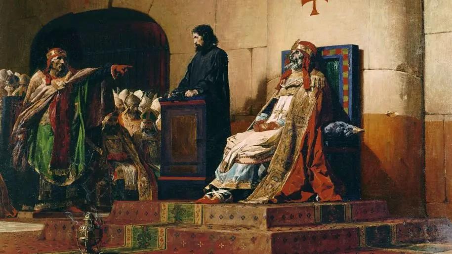 Il Sinodo del Cadavere: la lugubre storia del processo al corpo di Papa Formoso