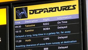 When Heathrow Airport went nuts for the Star Wars Day