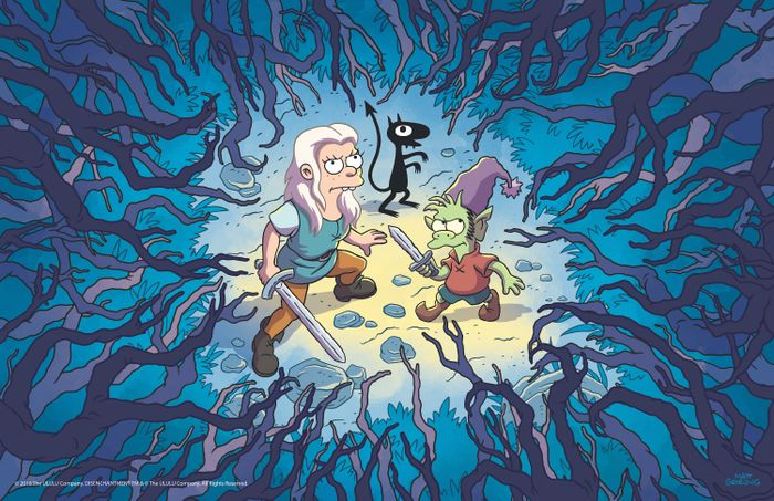disenchantment-matt-groening-forest