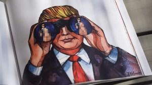 #MakeArtGreatAgain: il libro di illustrazioni sui tweet di Donald Trump