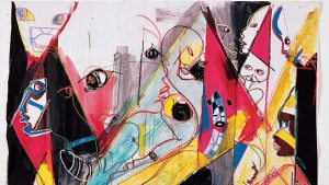 The hidden face of genius: the paintings of Miles Davis