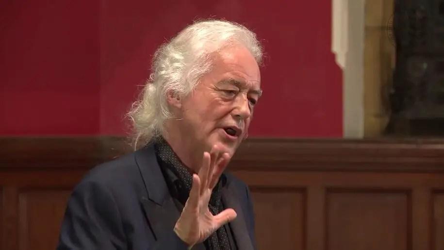 """Jimmy Page: """"Messaggi satanisti dentro Stairway to Heaven? Un'invenzione dei fan"""""""