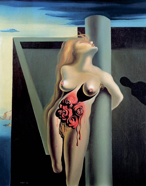 salvador-dali-the-bleeding-roses