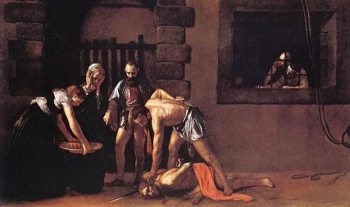 Caravaggio - La Decollazione di San Giovanni Battista