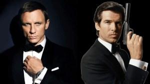 James Bond vs. James Bond: Daniel Craig and Pierce Brosnan