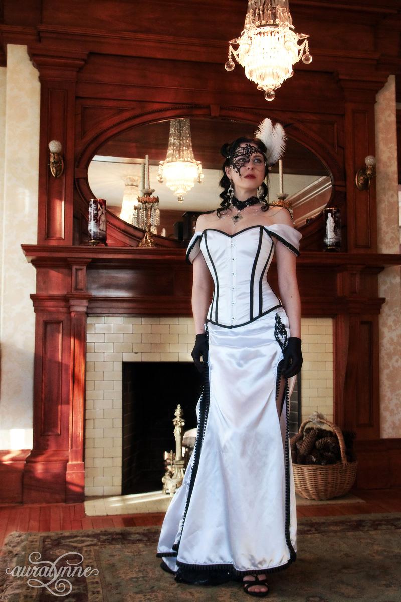 Victorian Passion Masquerade Ball Gown  auralynne