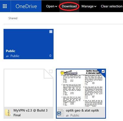 Cara Upload dan Download di OneDrive 4