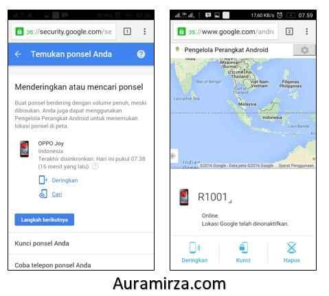 Cara Melacak HP yang hilang dengan Akun Google 3