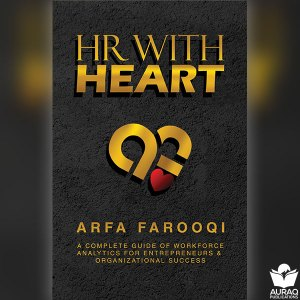 HR With Heart - Arfa Farooqi - Front Cover