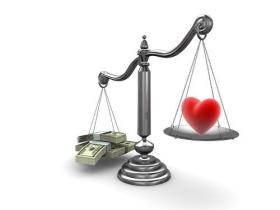 money or love