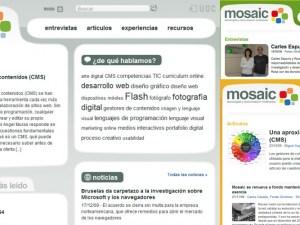 Mosaic, tecnologías multimedia