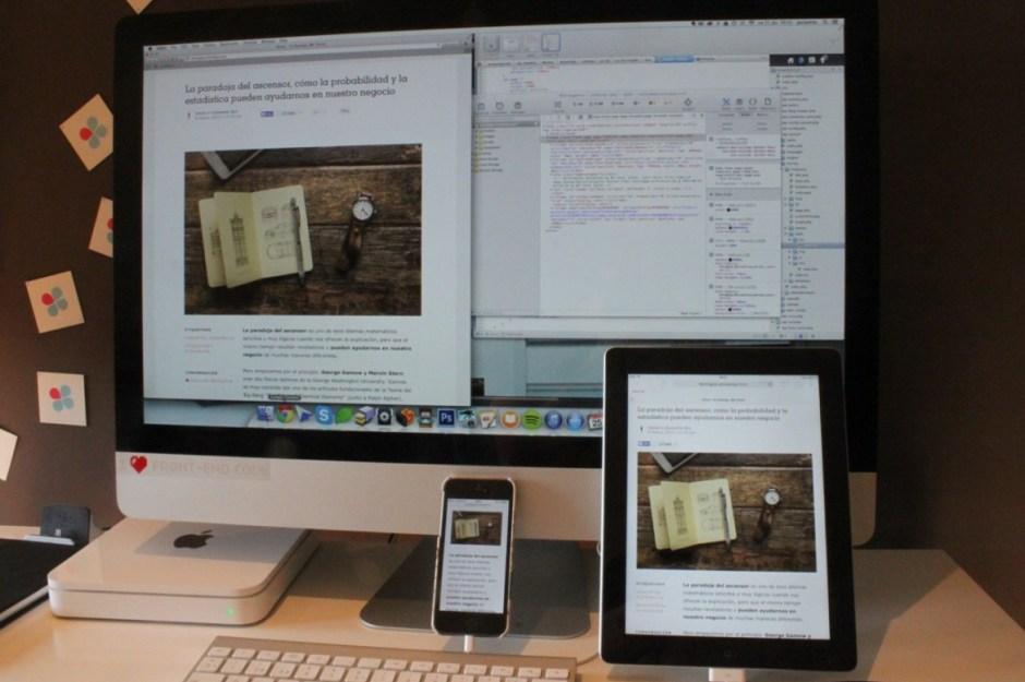 Foto de iMac, iPad, iPhone