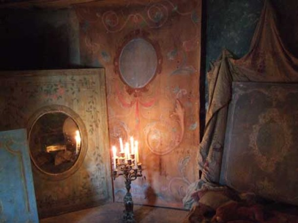 1- Atelier et photos in situ