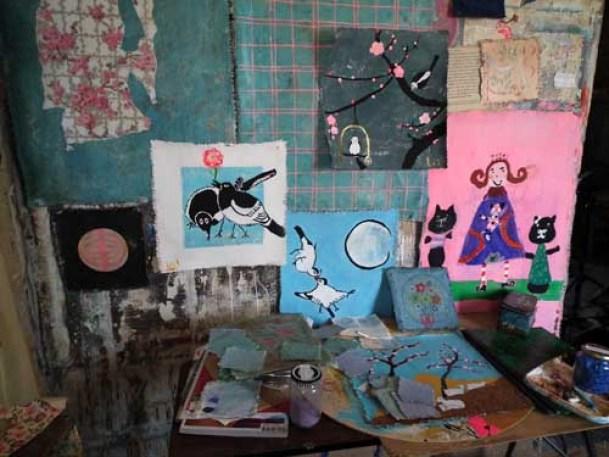 67-Atelier et photo in situ