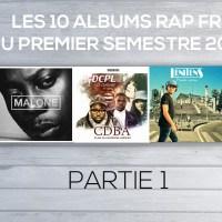 Les 10 albums rap FR du 1er semestre 2016 (1)