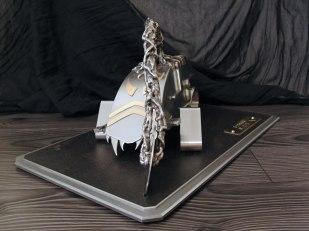 Sculpture metal Diskor