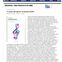 A New Review in 'Il Foglio'