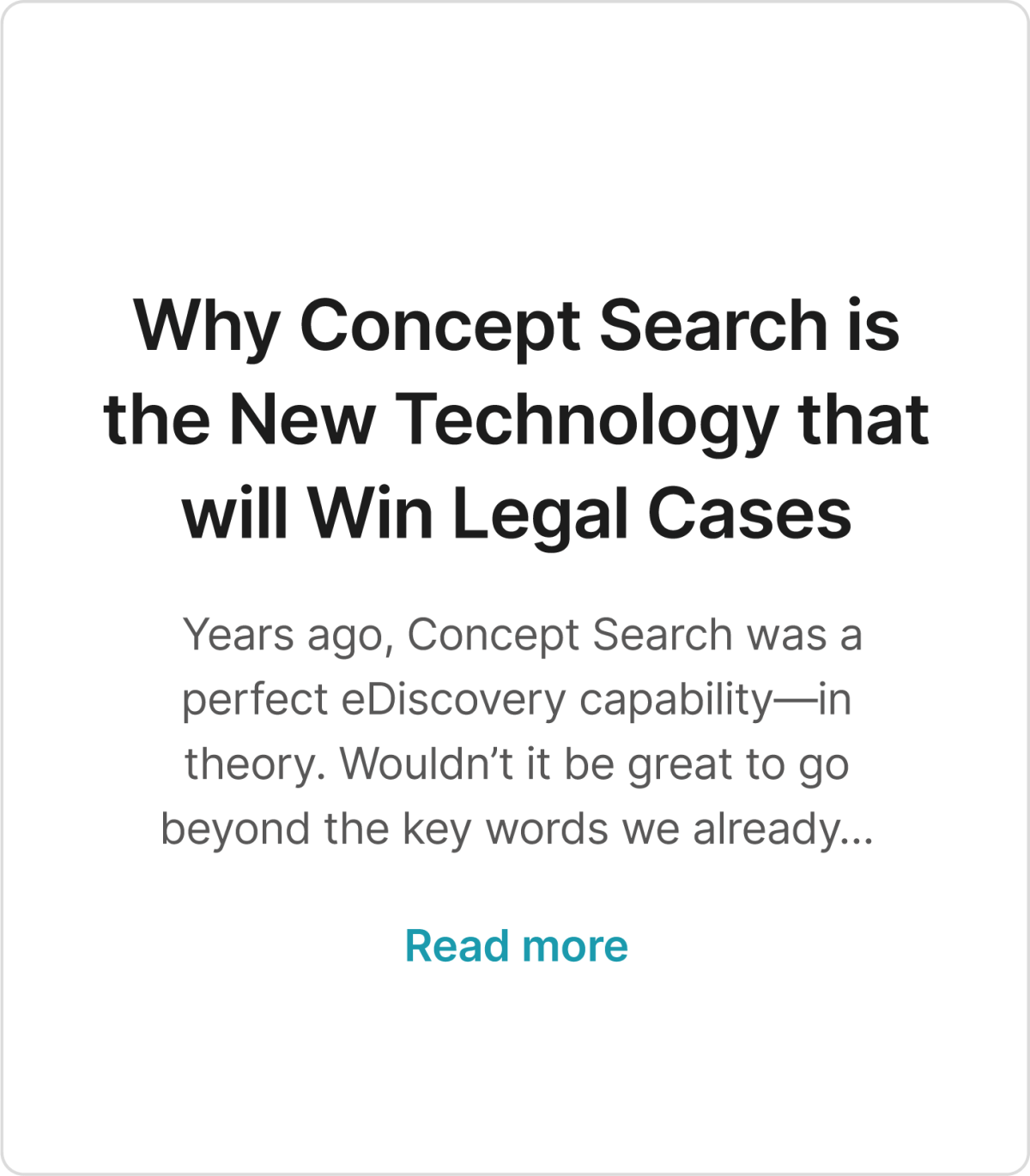 WhyConceptSearch