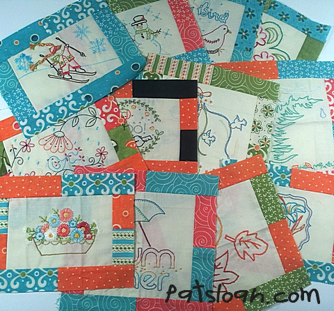 Pat Sloan Aurifil stitchery all full